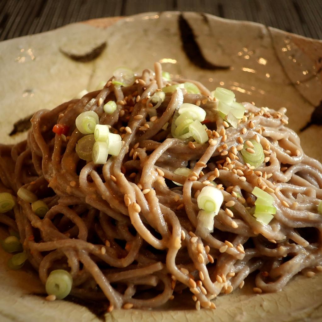 Creamy sesame noodles