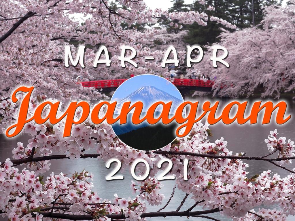 Japanagram March April 2021 header