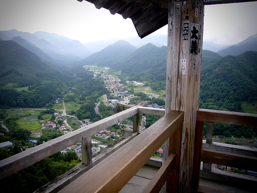 The view from Yamadera in Yamagata