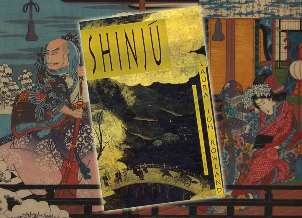 Book cover of Shinju by Laura Joh Rowland