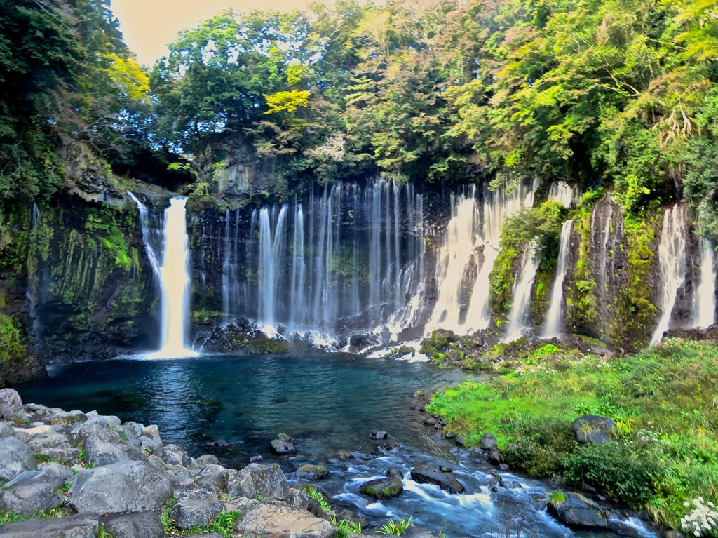 Shiraito-no-taki waterfall