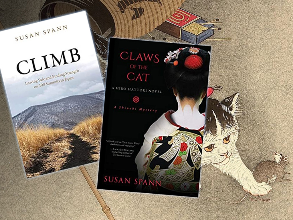 Covers of Susan Spann's Claws of the Cat and Climb