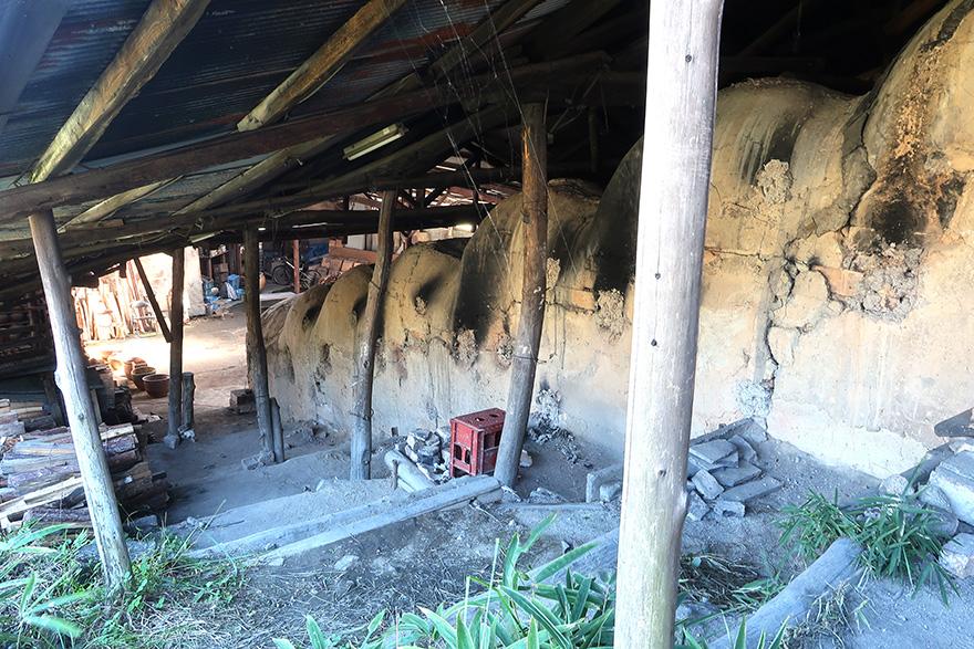 Soto-en kiln in Shigaraki noborigama style