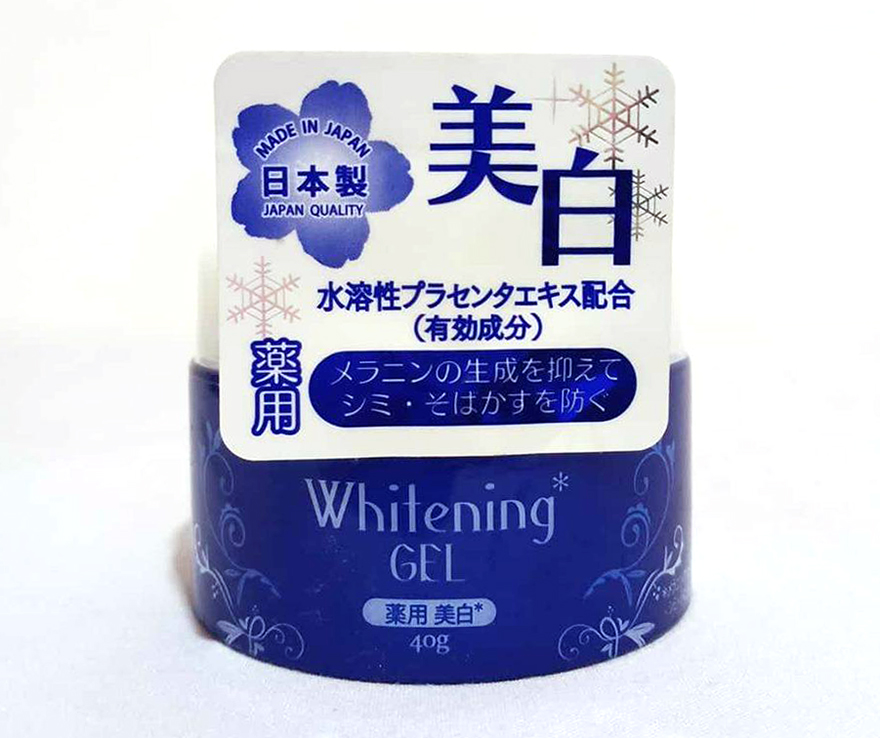 Japanese skin whitening cream