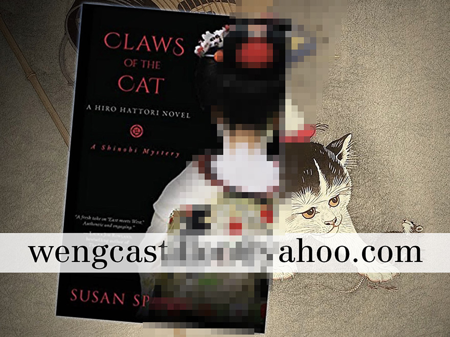 Winner of Japanagram August book giveaway Claws of the Cat by Susan Spann