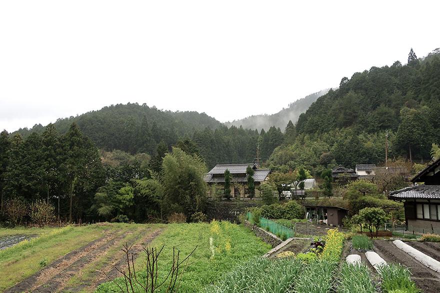 Countryside near Ohara, Japan