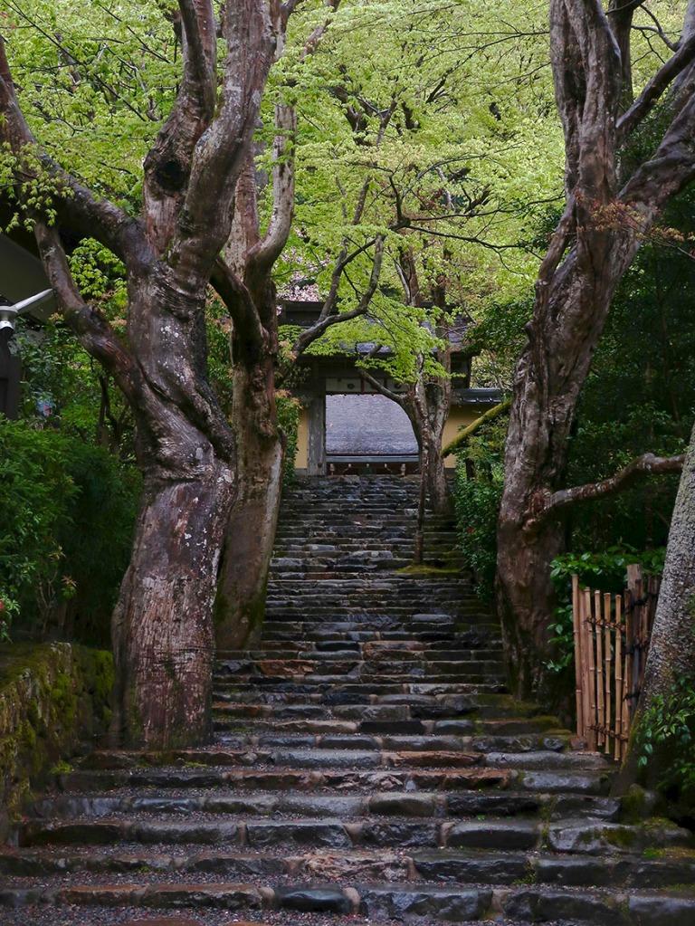 Gate of Jakko-in convent in Ohara, near Kyoto