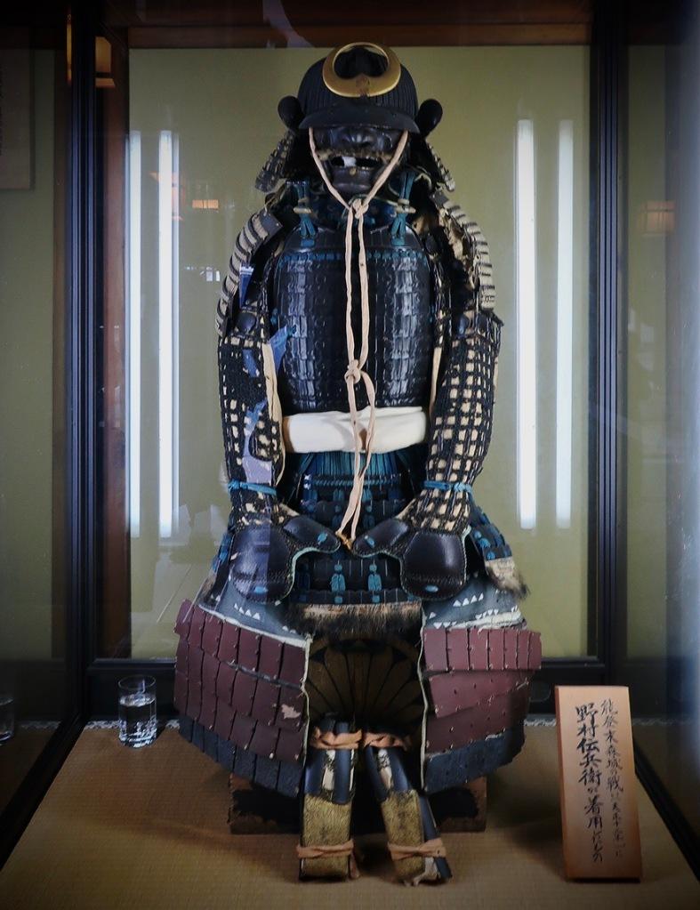 Samurai armor at the Nomura Samurai Residence in Kanazawa