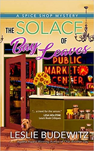 Cover of The Solace of Bay Leaves by Leslie Budewitz