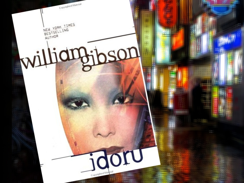 Cover of Idoru by William Gibson