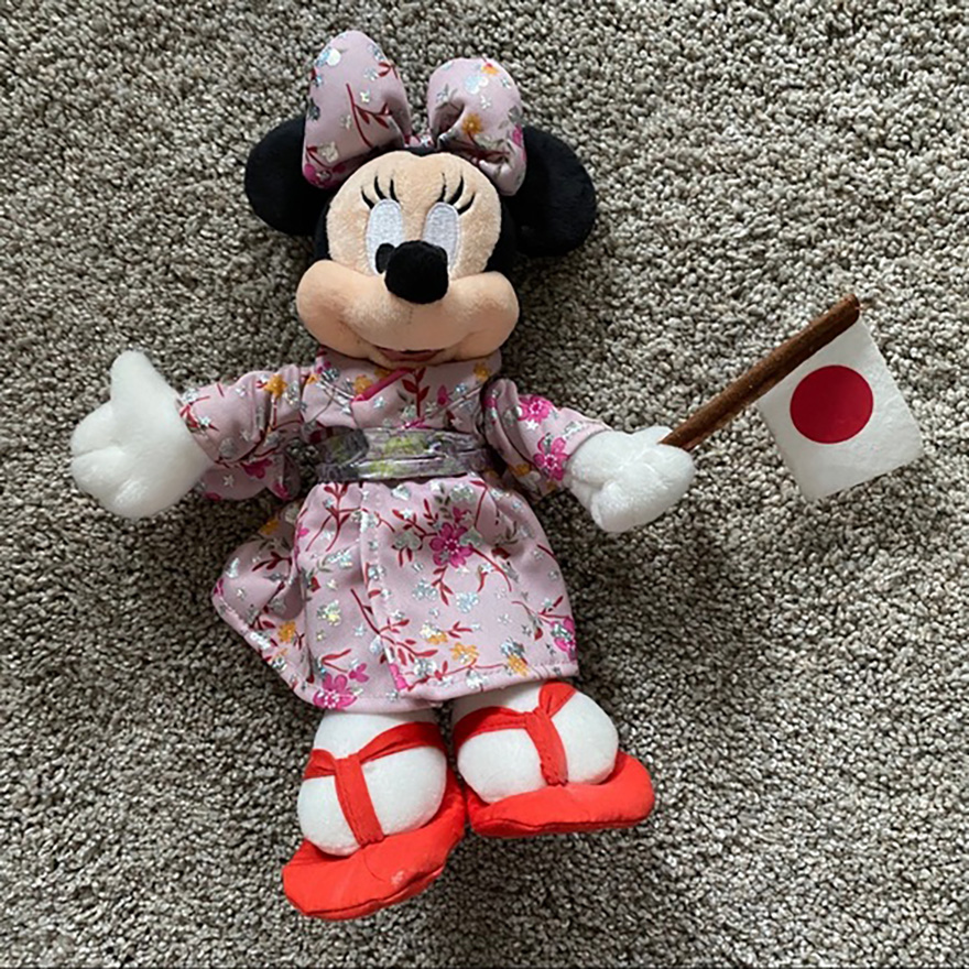 Japanese Minnie Mouse