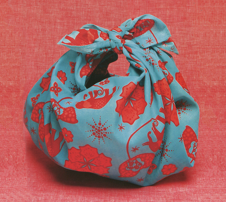 Furoshiki Japanese wrapping cloth gift