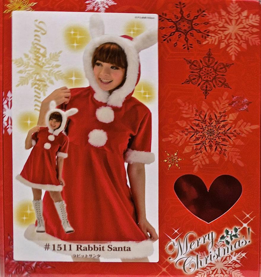Sexy Santa costume Rabbit Santa
