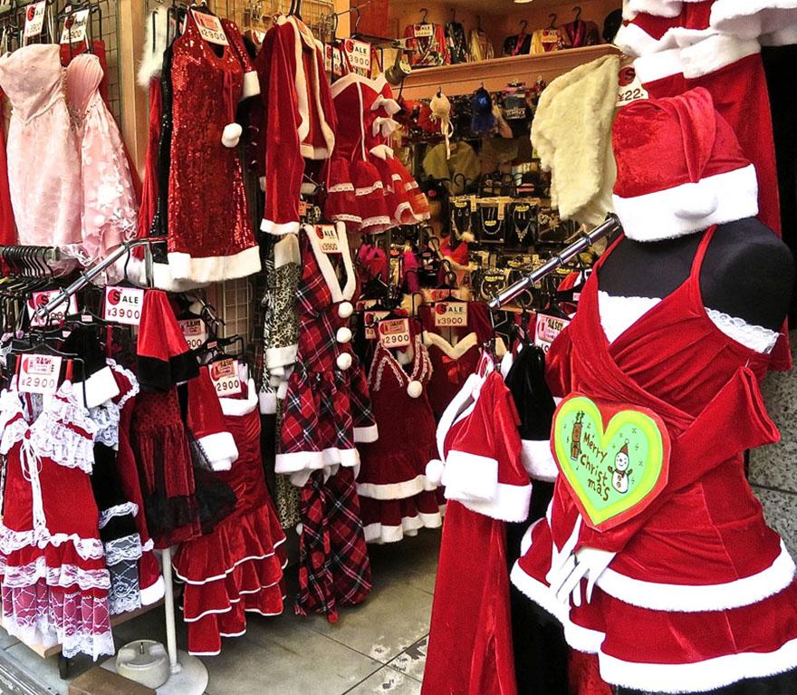 Sexy Santa costume store