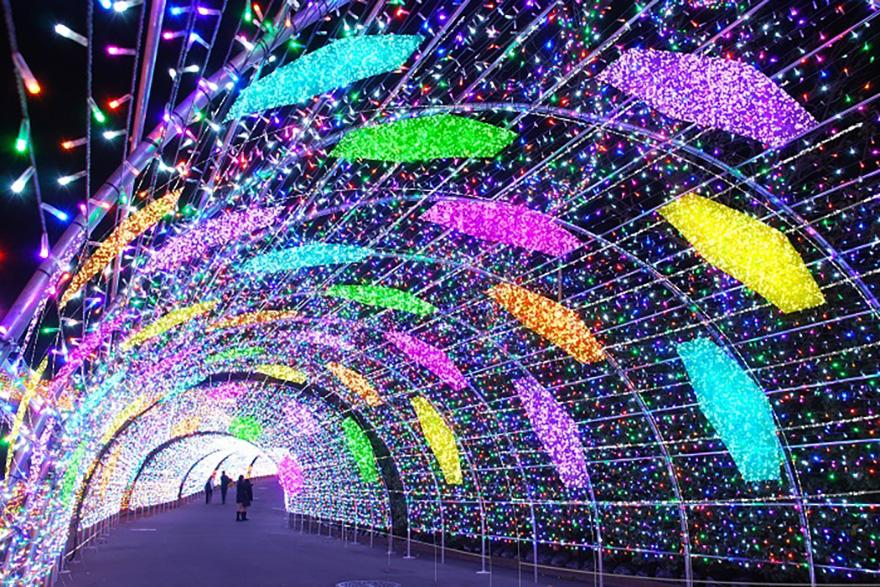 Yomiuriland Jewelluminations Diamond area