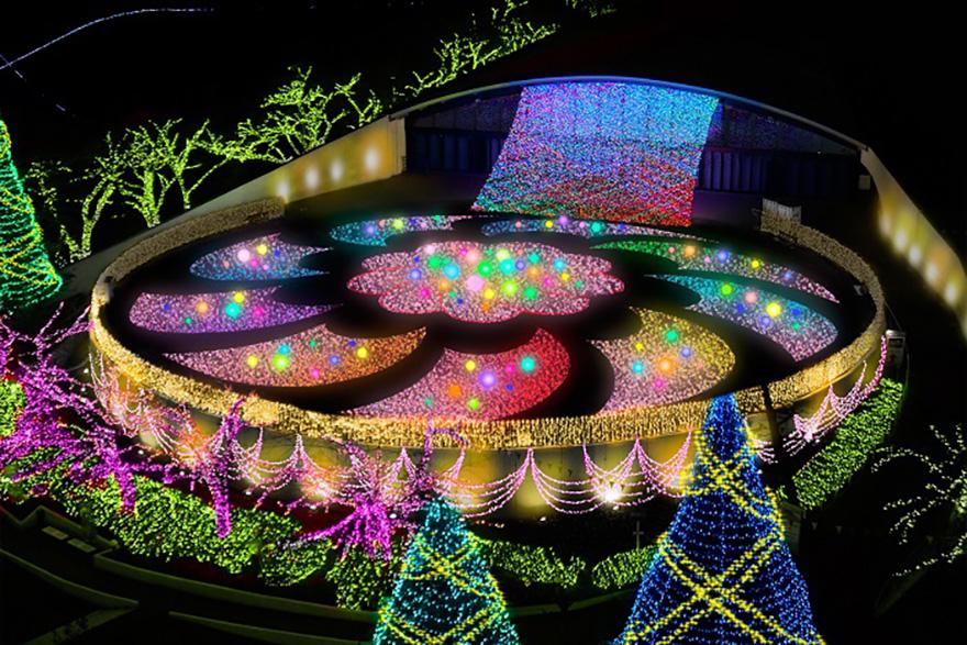Yomiuriland Jewelluminations Ruby area