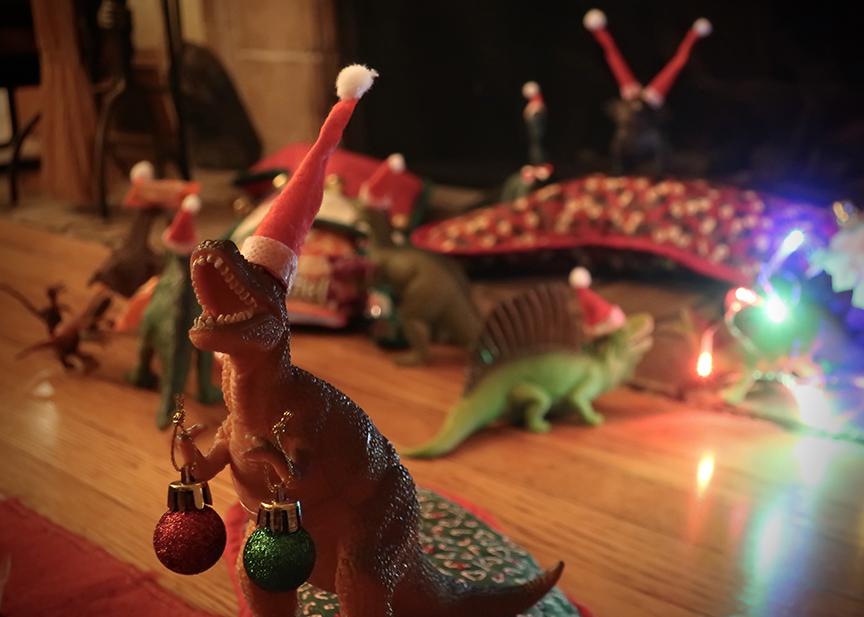Jonelle Patrick's Christmas dinosaur rebellion