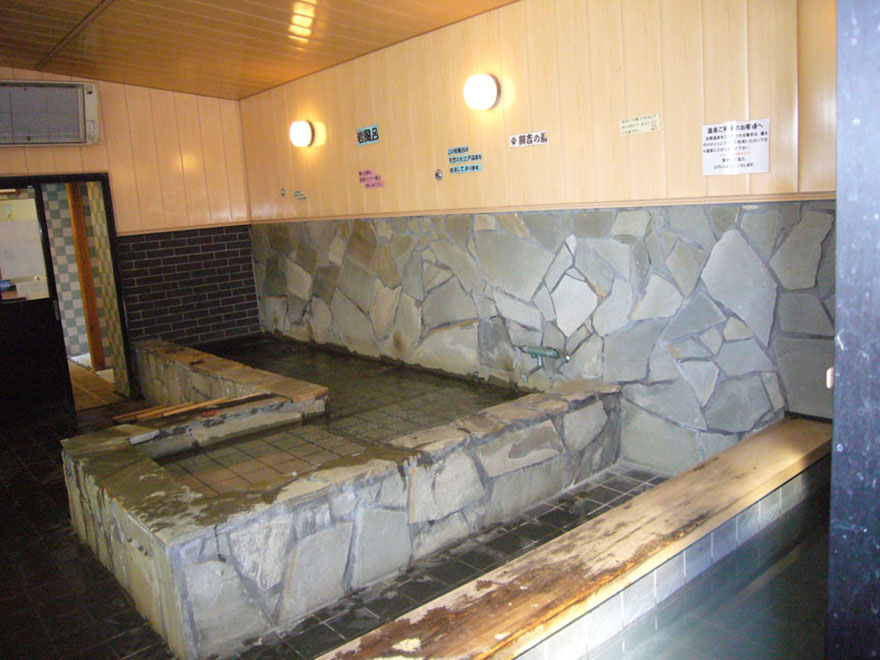 Petite Dog Resort Joker hot spring bath for dogs
