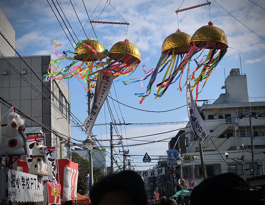 The Setagaya Boroichi flea market in Tokyo