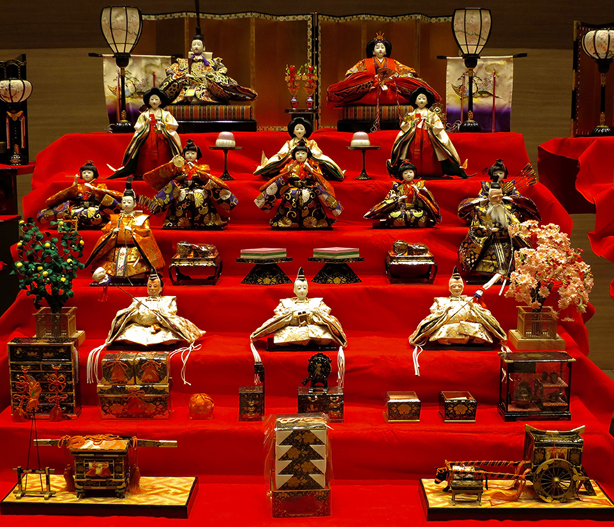 Katsuura Doll Festival hina matsuri doll display