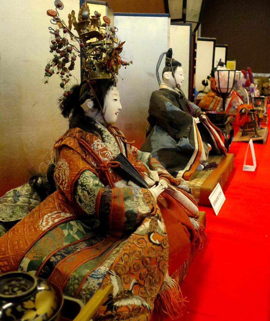Katsuura Doll Festival hina matsuri Meiji era antique dolls