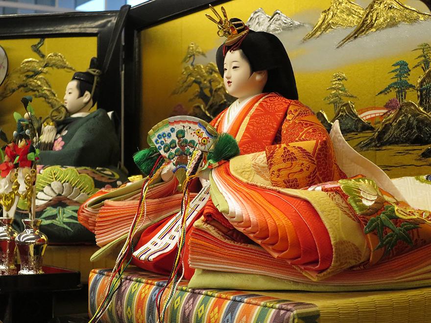 Katsuura Doll Festival hina matsuri empress doll