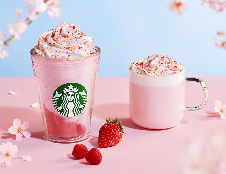 Starbucks sakura drinks for cherry blossom season