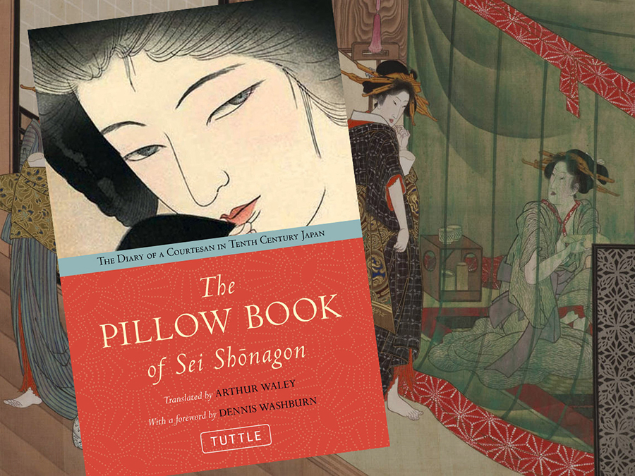 Cover of The Pillow Book by Sei Shonagon