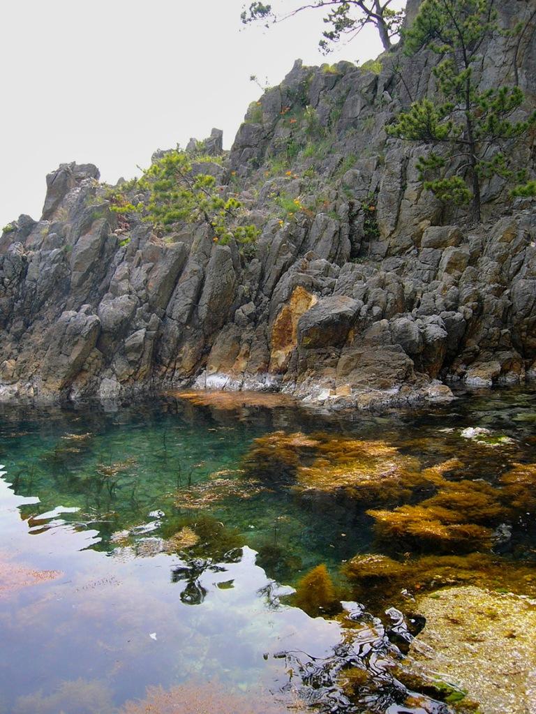 Coastline of Sado Island